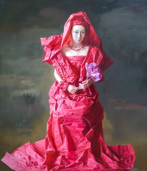 Zeng Chuanxing - Red Paper bride - Contemporary Asian Art